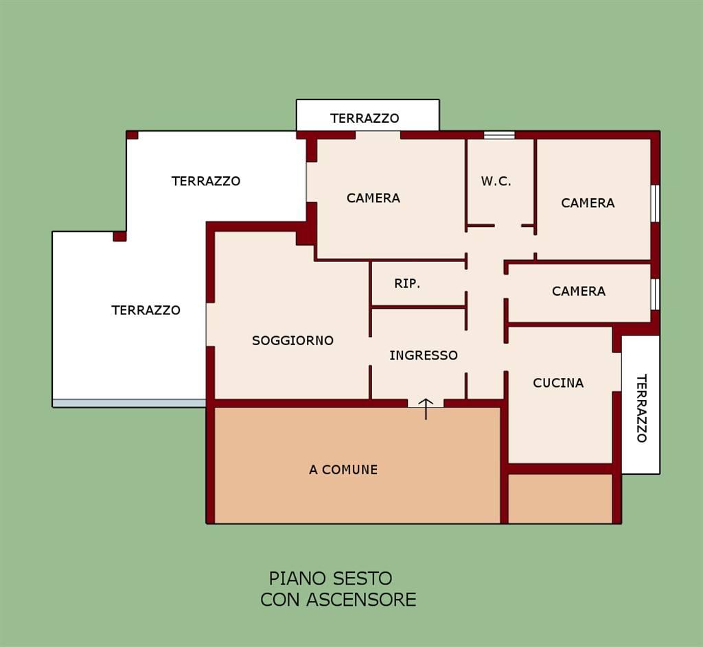 Attico / Mansarda in vendita Rif. 5330351