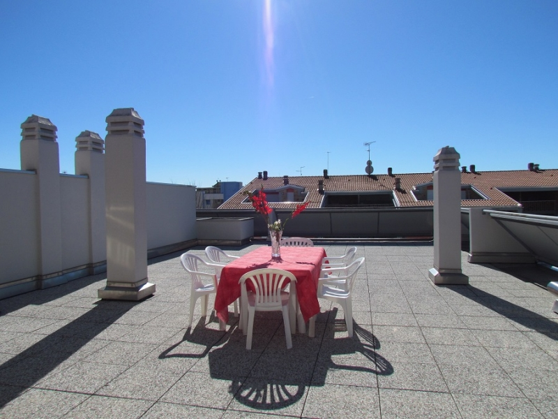 Affittasi appartamento con terrazzo a San Michele al Tagliamento