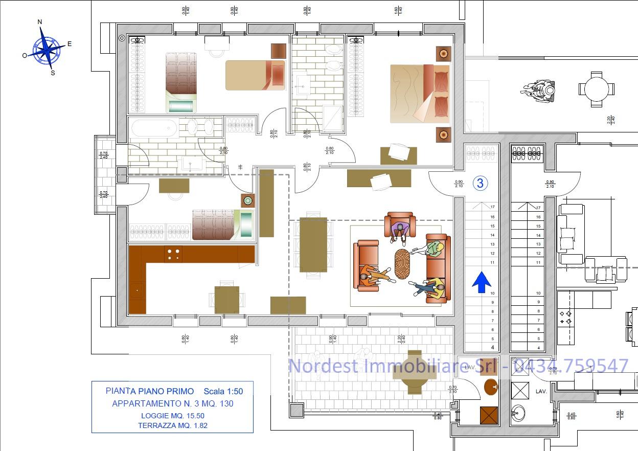 Appartamento in vendita Rif. 8078326