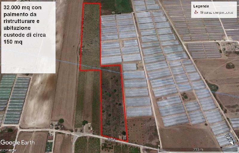 Vende terreno agricolo a Pachino